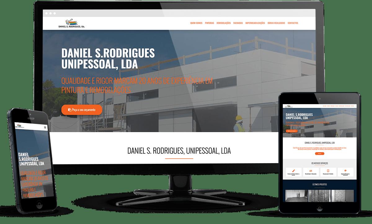 website Daniel S. Rodrigues