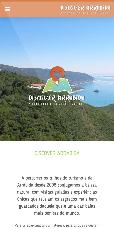 Website Discover Arrábida