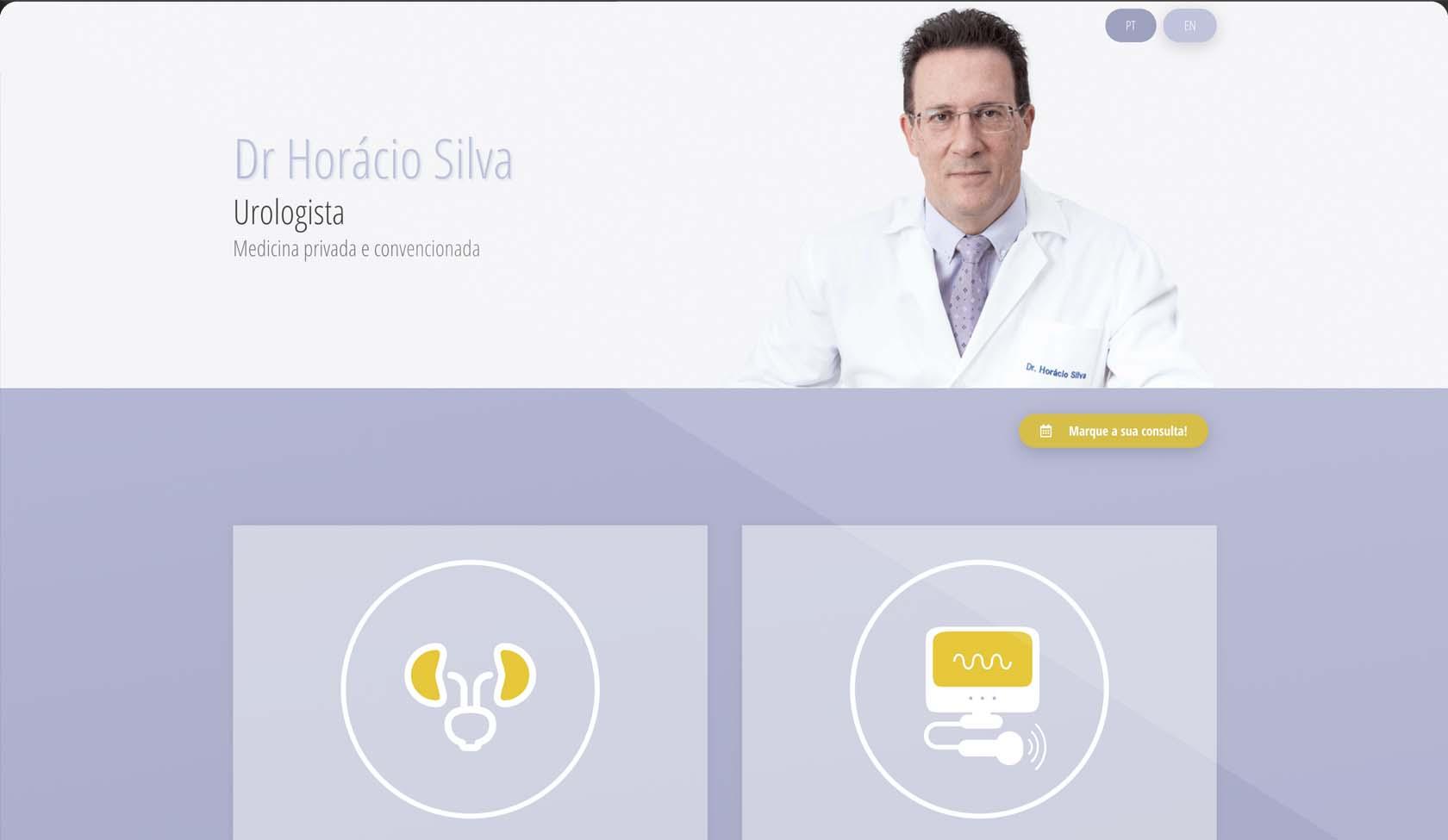 website Horácio Silva Urologista