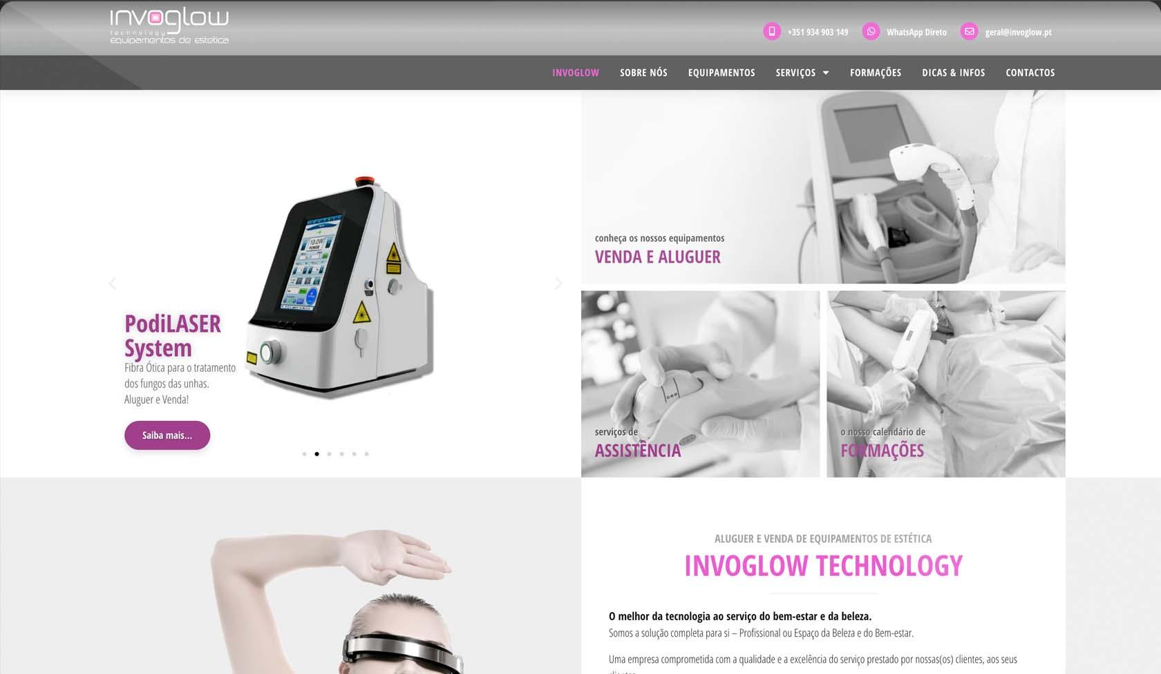 website Invoglow