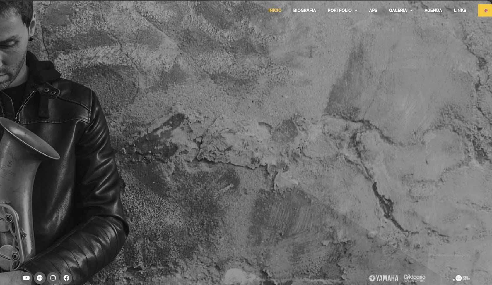 website Saxofonista João Pedro Silva