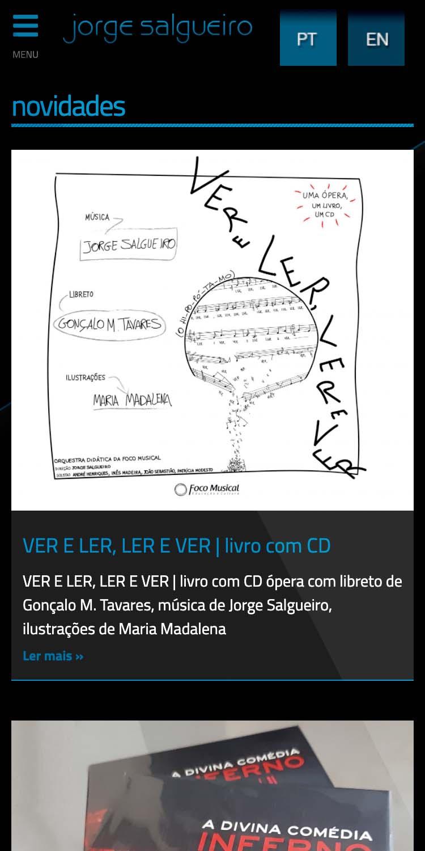 Maestro Jorge Salgueiro