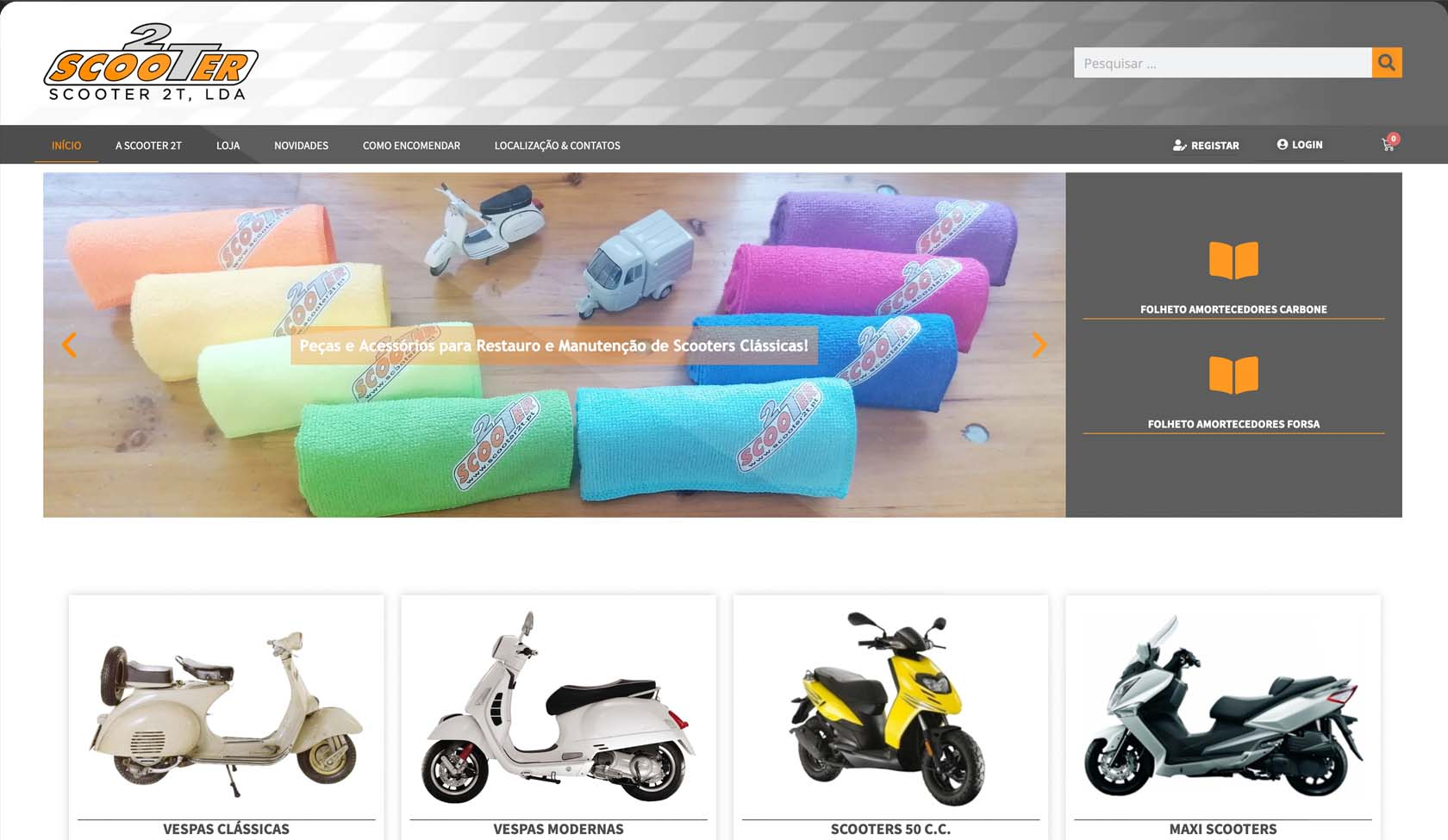 ecommerce Scooter2T