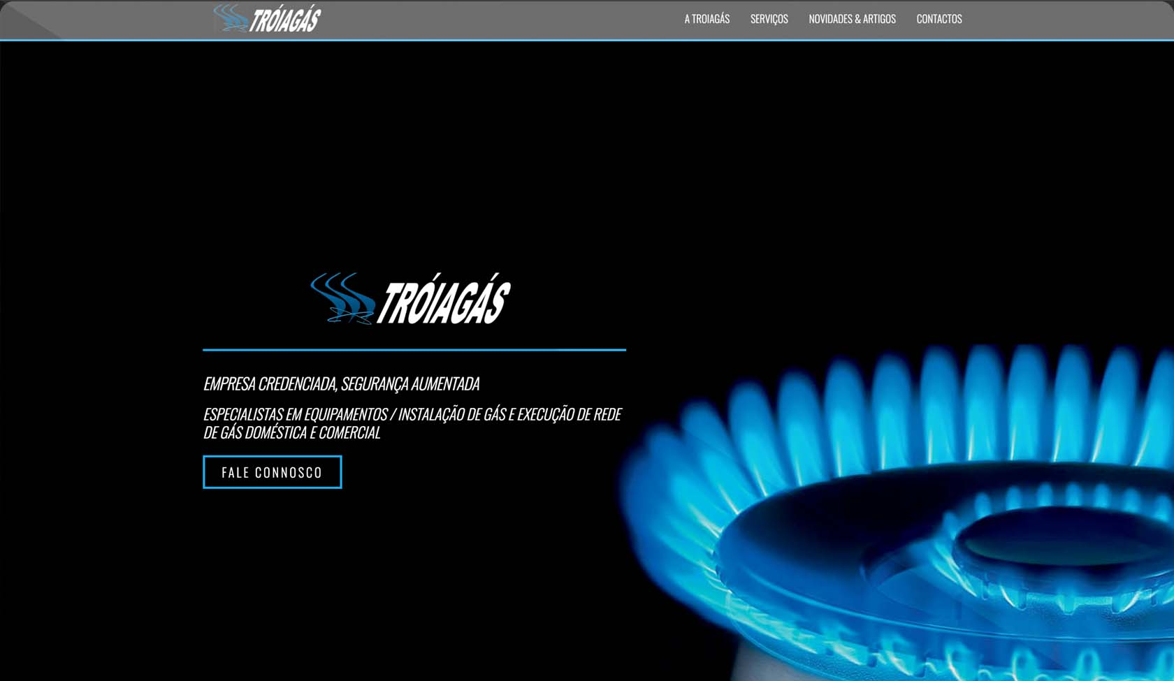 website Troiagás